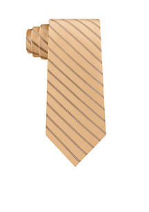 Double Satin Stripe Tie