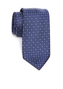 Dotted Grid Necktie