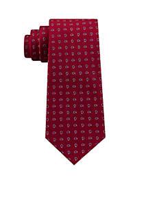 Mini Paisley Print Necktie