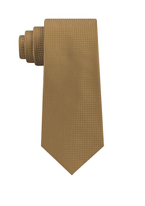 Eagle Diamond Texture Solid Tie