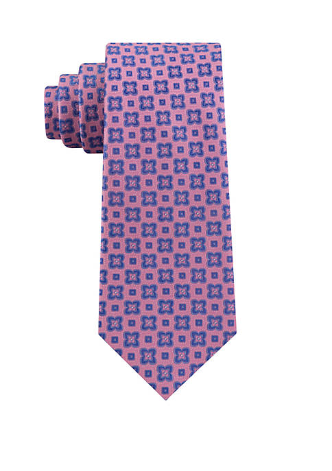Eagle Floral Neat Tie
