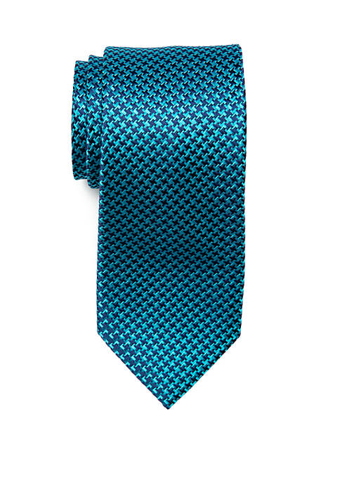Eagle Grounded Houndstooth Tie