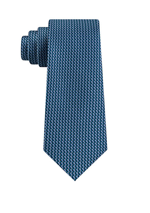 Eagle Zigzag Unsolid Solid Tie