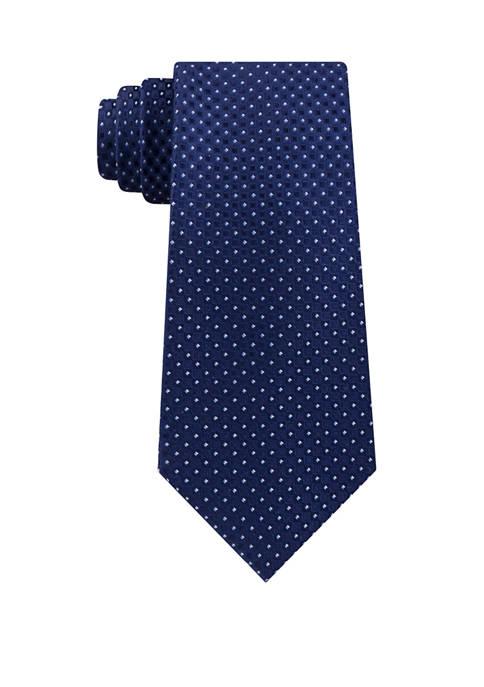 Eagle Square Print Tie