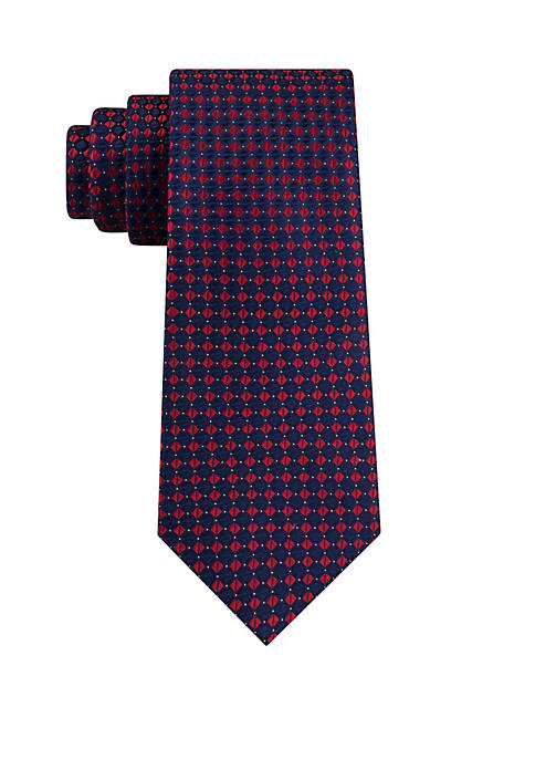 Eagle Diamond Neat Tie