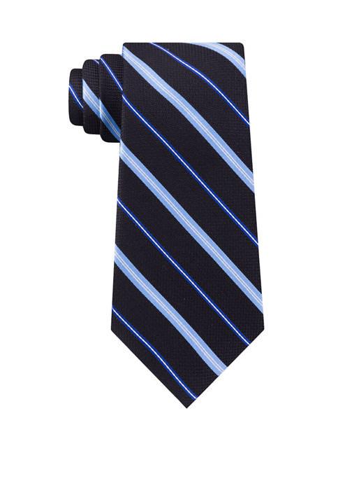 Eagle Sleigh Stripe Tie
