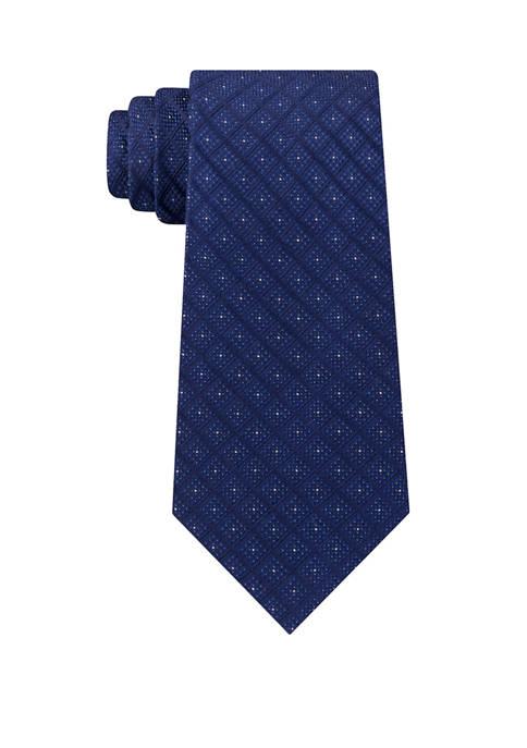 Eagle Joy Grid Silk Woven Tie