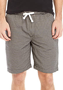 Striped Pull-On Baja Shorts