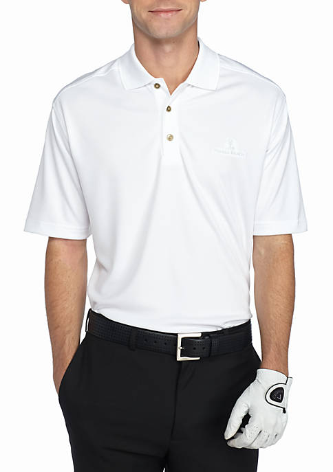 PEBBLE BEACH™ Classic-Fit Textured Performance Golf Polo Shirt