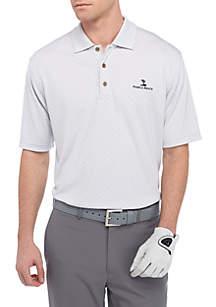 Tonal Jacq Performance Golf Polo Shirt