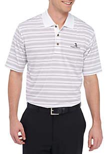 Jersey Milti Stripe Performance Golf Polo Shirt