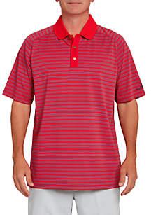 Stripe Performance Golf Polo Shirt