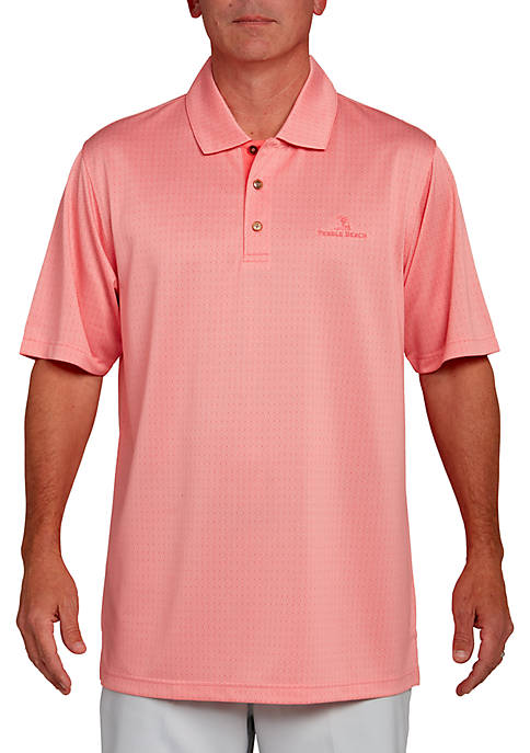 PEBBLE BEACH™ Jacquard Polo Shirt