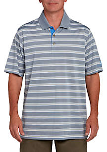 Jersey Multi Stripe Polo Shirt