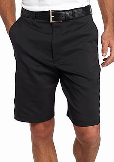 PEBBLE BEACH™ 9.5-in. Classic-Fit Dobby Diamond Cargo Performance Golf Shorts