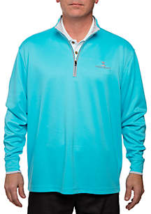 Double Brushed 1/4 Zip Pullover