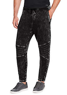 Terry Moto Pants