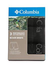 3 Pack Tri-Blend Boxer Briefs