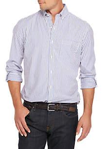 Poplin Stripe Classic Shirt