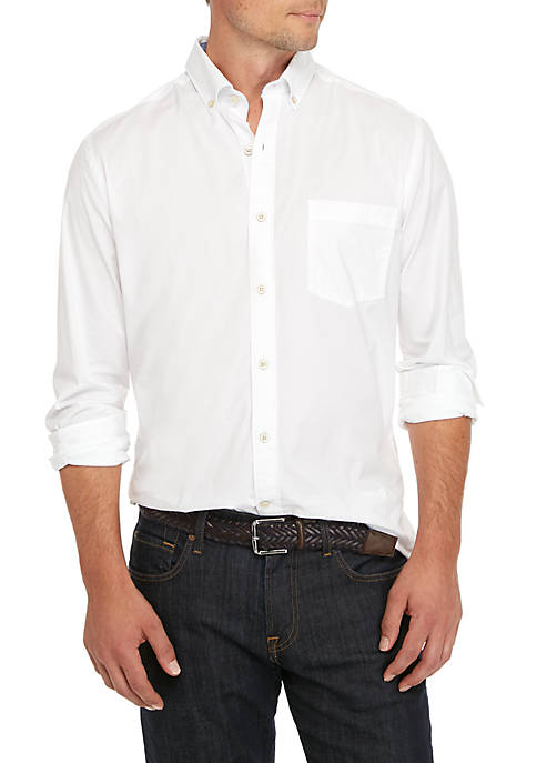 Poplin Solid Classic Shirt