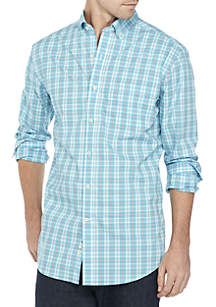 Non Iron Plaid Classic Fit Shirt