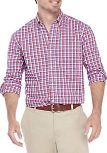 Non Iron Plaid Classic Fit Shirt