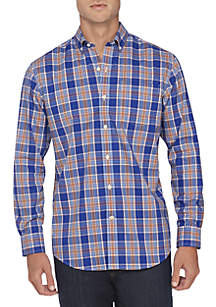 Crown & Ivy™ Non Iron Plaid Classic Fit Shirt