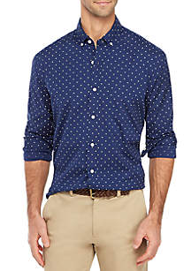 Crown & Ivy™ Classic Fit Button Down Shirt