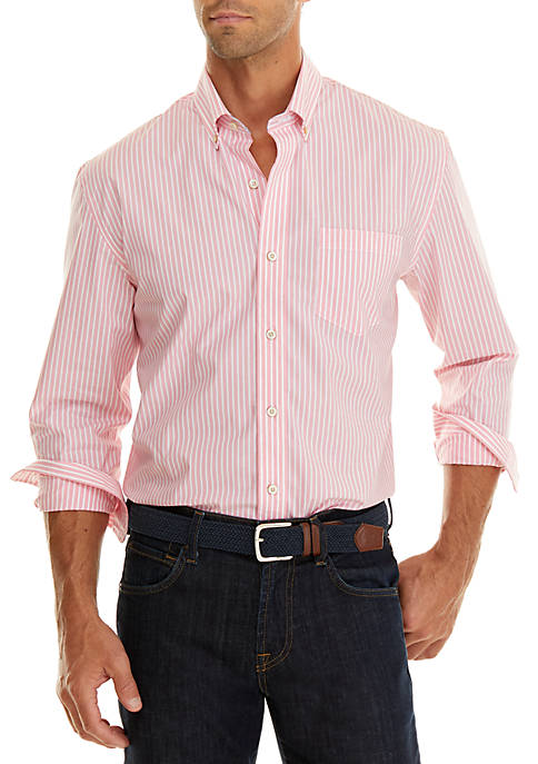 Crown & Ivy™ Classic No Iron Button Down