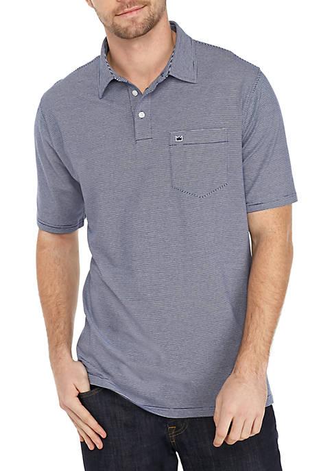 Crown & Ivy™ Motion Flex Short Sleeve Stripe