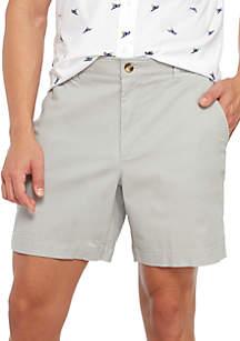 Crown & Ivy™ Motion Flex Twill Shorts