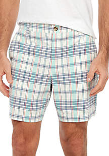 Crown & Ivy™ Motion Flex Madras Shorts