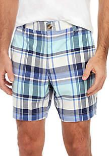 Crown & Ivy™ Motion Flex Madras Shorts