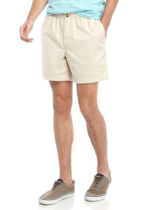 Crown & Ivy™ Mens Solid Deck Shorts