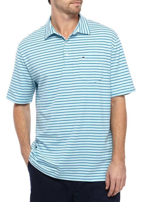 Crown & Ivy™ Short Sleeve Jersey Knit Polo