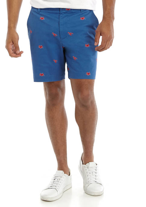 Crown & Ivy™ Mens Twill Print Shorts