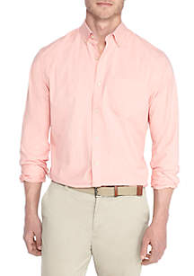 Big & Tall Long Sleeve Poplin Shirt