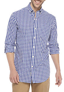Big & Tall Non Iron Plaid Shirt