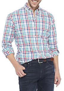 Big & Tall Non Iron Plaid Shirt