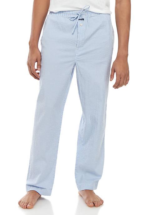Seersucker Sleep Pants