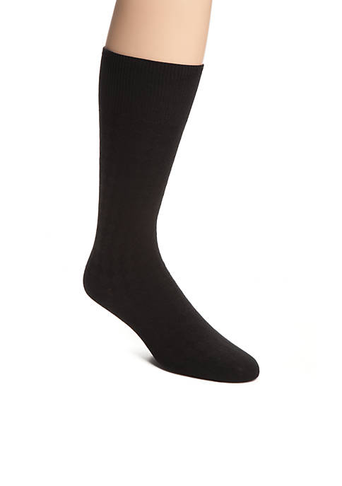 Diamond Soft Touch Crew Sock - Single Pair