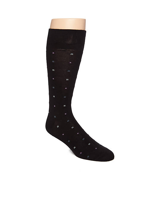 Saddlebred® Boxed Neat Soft Touch Crew Socks
