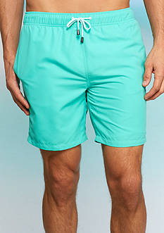 Crown & Ivy™ 7-in. Inseam Swim Trunks