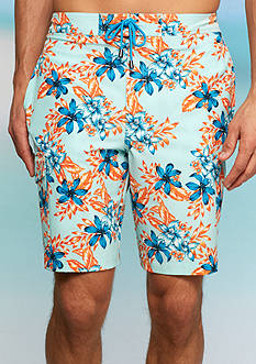 Crown & Ivy™ Stretch 9-in. Inseam Board Shorts
