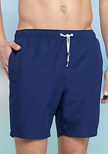 Crown & Ivy™ Solid Swim Shorts