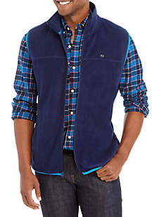 Solid Fleece Vest
