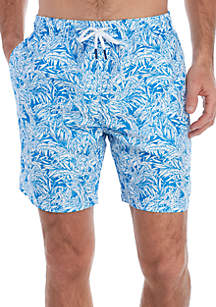 bef9b96022 ... Shorts · Crown & Ivy™ Printed Swimming Trunks