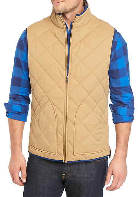 Crown & Ivy™ Quilted Vest