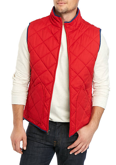 Crown & Ivy™ Family of Crown Quilted Vest
