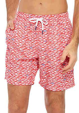 44fe0820c88ed Crown & Ivy™ Big & Tall Printed Swim Trunks ...